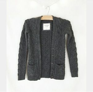 Abercrombie and Fitch 3/$25 cable knit cardigan